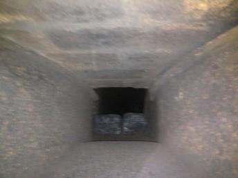 Chimney Hood After Power swept