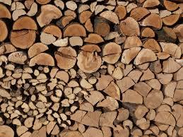 Dry wood